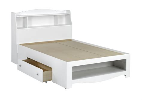 Full Size Platform Bed With Storage Frames