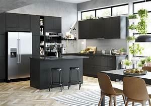 Modeles Cuisine Ikea : cuisine ikea nos mod les de cuisines pr f r s elle d coration ~ Dallasstarsshop.com Idées de Décoration