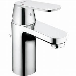 Mitigeur Grohe Lavabo : mitigeur lavabo chrom eurosmart cosmopolitan 2337700e ~ Dallasstarsshop.com Idées de Décoration