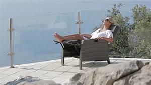 Gartenstuhl Mit Liegefunktion : relaxsessel garten polyrattan ~ Indierocktalk.com Haus und Dekorationen