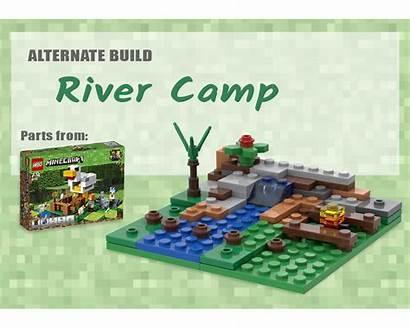 Moc Camp River Minecraft Lego Build Mocs