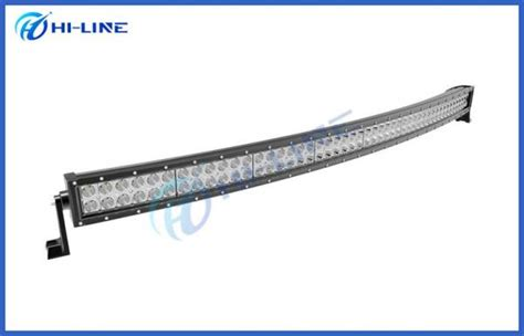 details of 50 inch curved led light bar road led light