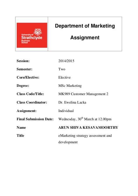 digital marketing assignment  final