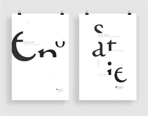 synonyme dans ce cadre affiches typographiques on behance