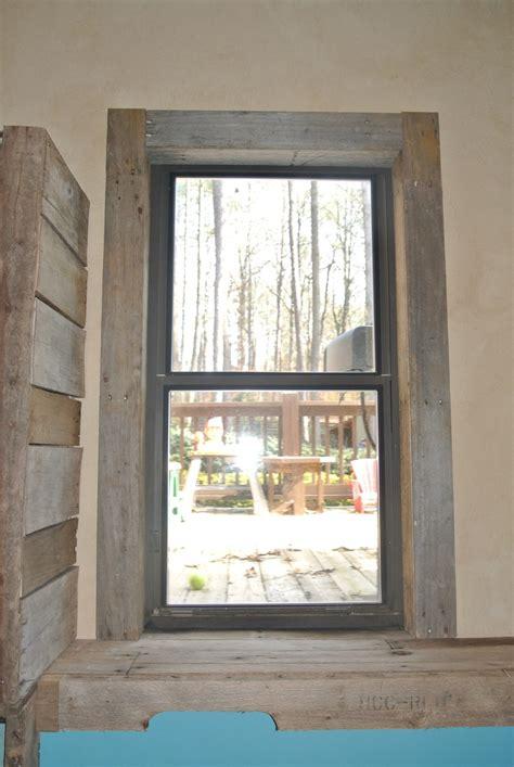 pallet window trim interior window trim house trim