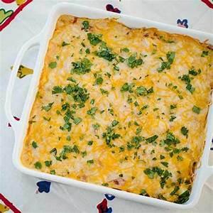 Cheesy Chicken Dorito Casserole Recipe Just A Pinch Recipes