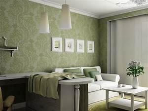 Beautiful Living Room Wallpaper Decorating Ideas