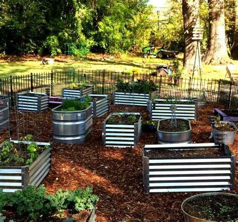 galvanized steel earthmark raised ga garden bed