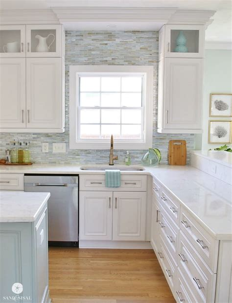coastal kitchen ideas coastal kitchen makeover the reveal coastal decor 2279