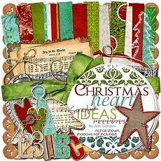 Christmas Digital Scrapbook Freebies  Scrapbooking  Pinterest  Songs, Sheet Music And Christmas