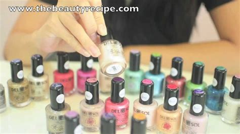 Delsol Color Changing Nail Polish Singapore.mov