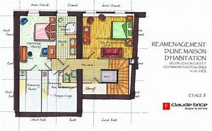 plan feng shui maison affordable decoration pictures feng With construire une maison feng shui