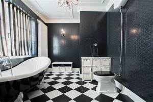 Vinylboden Auf Fliesen : vinylboden im bad verlegen anleitung in 6 schritten ~ Watch28wear.com Haus und Dekorationen