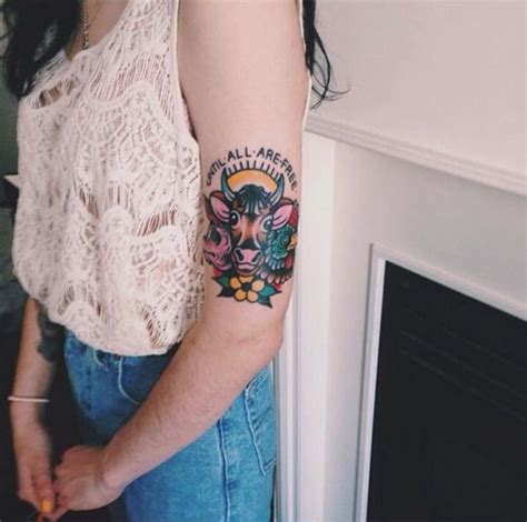 Vegan Tattoo, Tattoo Placements And Tattoos And Body Art