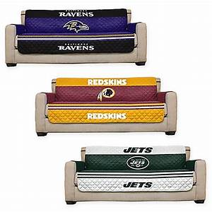 nfl sofa cover bed bath beyond With nfl furniture covers