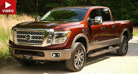 nissan truck diesel nissan and cummins talk about how good the 2016 titan xd 39 s