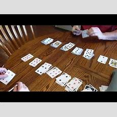 Double Solitaire Joe Vs Sam Youtube