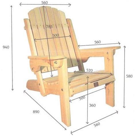 mesure d une chaise 17 best ideas about fauteuil adirondack on montagnes adirondack chalet bois and