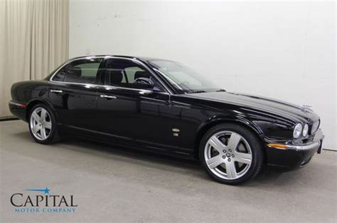 amazing used jaguar sell used amazing 400hp supercharged v8 xjr w dvd system