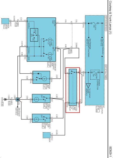 Need Wiring Diagram For Interior Lights
