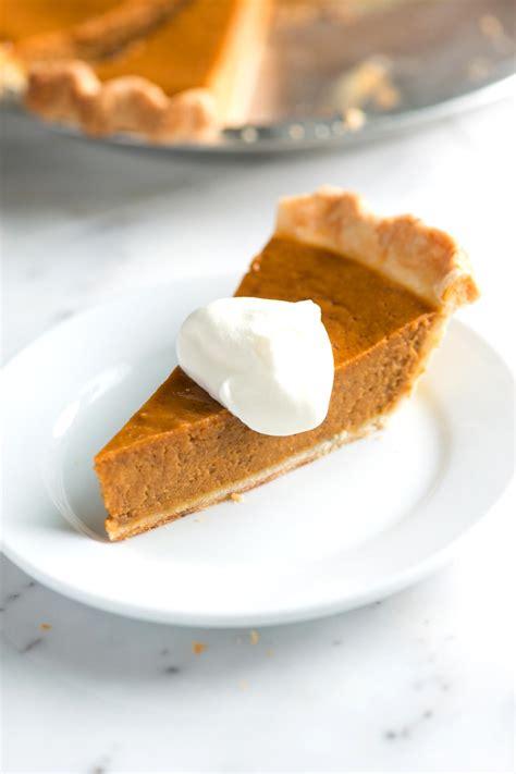recipe for pumpkin pie no fail homemade pumpkin pie recipe