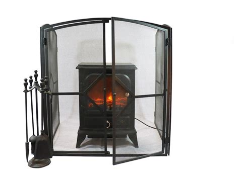 Vintage Fireplace Screen Baby Child Proof Hearth Guard Nursery Safety Cover 5055041006233 Ebay