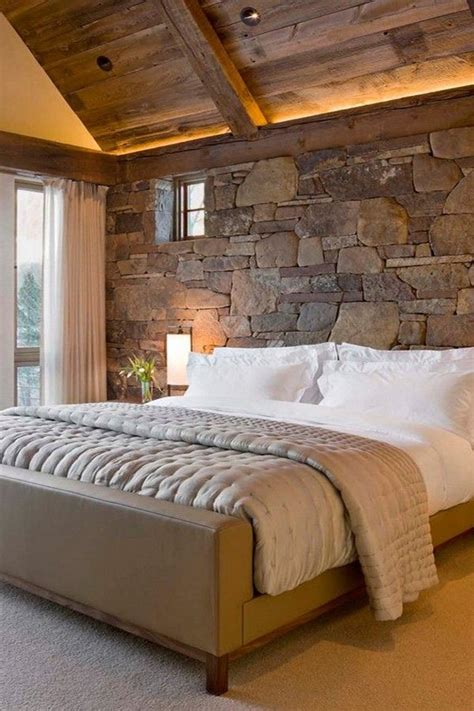 gorgeous home decor  exposed stone walls