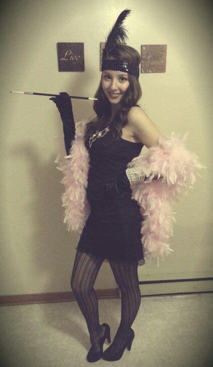 flapper girl easy diy halloween costume   switch