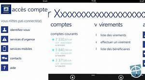 Prix Cheque De Banque Banque Postale : maj l 39 application acc s compte de la banque postale arrive sur wp8 monwindows ~ Medecine-chirurgie-esthetiques.com Avis de Voitures
