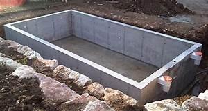 Coffrage Terrasse Beton : piscine en b ton cuvel e ou non tanche idee pinterest piscine beton piscine et ~ Medecine-chirurgie-esthetiques.com Avis de Voitures