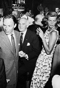 Frank Sinatra dancing with his wife Nancy Barbato at their ...