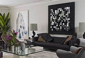 Stunning living room art decor ideas greenvirals style for Modern decorating ideas for home
