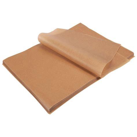 parchment paper baking unbleached sheet stick non sheets count grade brown precut half x16 polyvore bake pans inches cookies