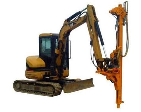 mda excavator rock drills