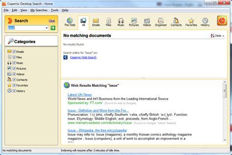 Copernic Desktop Search Free 7.0.1 Free Download