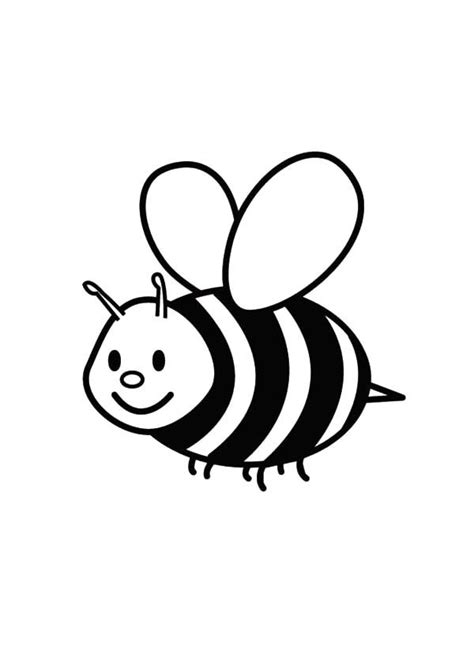 flying bumble bee coloring pages  place  color