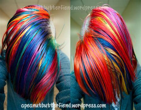 My Rainbow Hair Apeanutbutterfiend