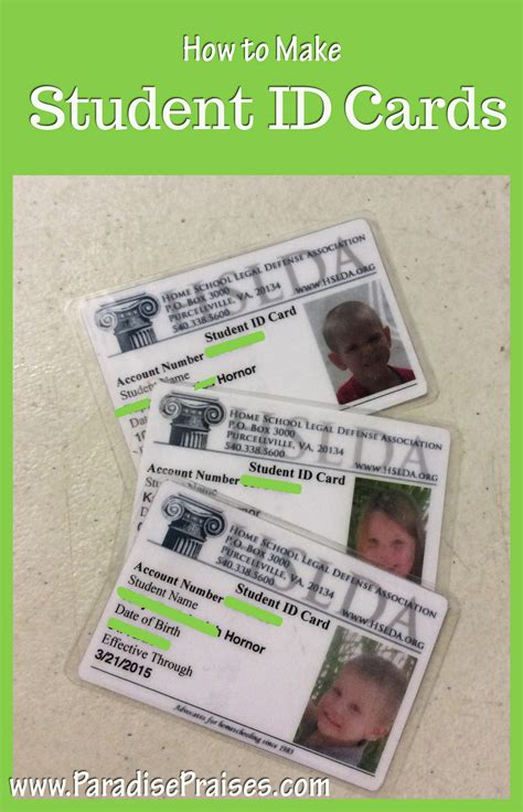 How To Make Student Id Cards