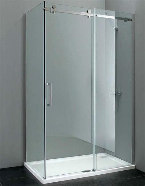 Cloakroom Vanity by Elite 1400mm X 800mm Frameless Sliding Shower Enclosure