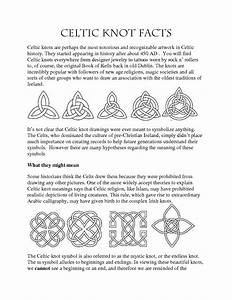 Scottish Symbols And Meanings Chart Celtic Designs And Their Meanings Celtic Symbols And