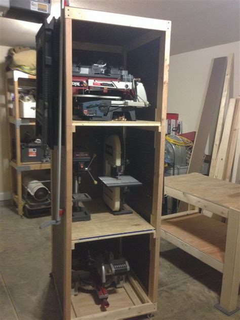 bench power tool shelf rack  bench top bench