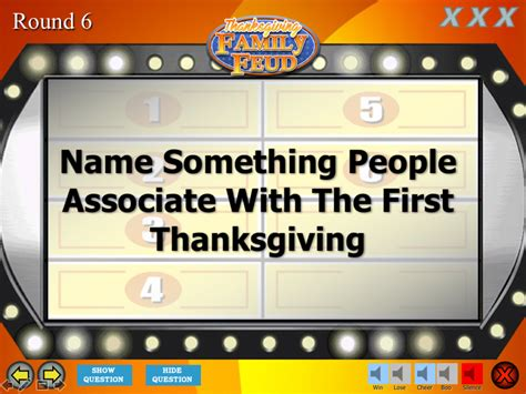 thanksgiving family feud trivia powerpoint game mac