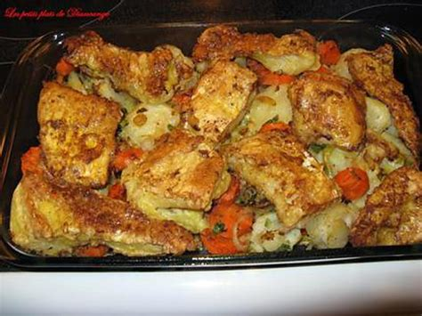 cuisiner de la morue recette de morue et légumes au four