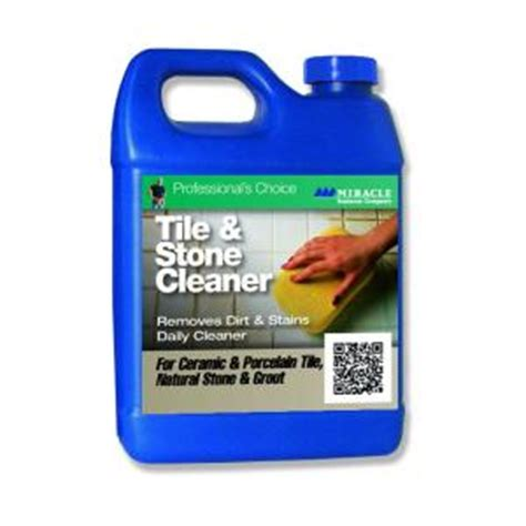 floor tile cleaning products miracle sealants 32 oz tile and stone cleaner tsc qt h the home depot