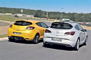 Opel La Teste : opel astra opc versus renault megane rs test comparativ teste auto bild ~ Gottalentnigeria.com Avis de Voitures
