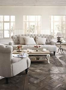 Living Style Möbel : romantisches sofa im vintage style landhausstil in 2019 ~ Watch28wear.com Haus und Dekorationen