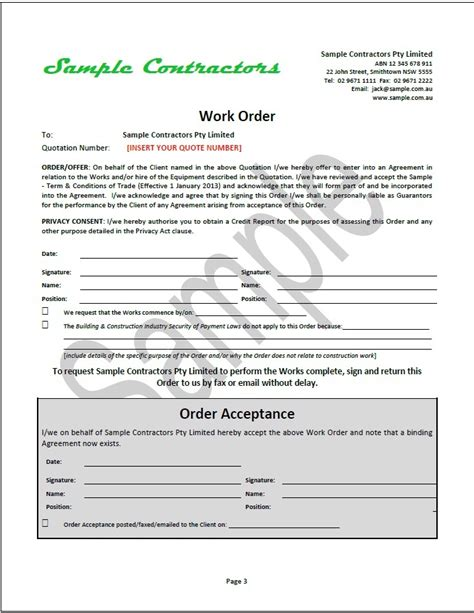 contract quotation template new tradesafe contracts documentation overview sles