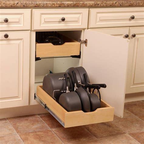 Kitchen Pan Storage Ideas - best of kitchen cabinet organizers for pots and pans gl kitchen design