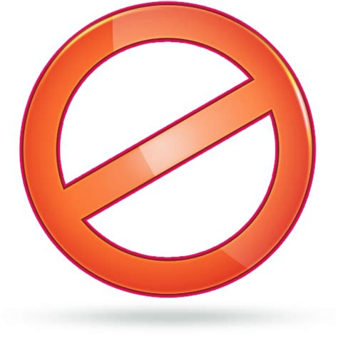 jeux de cuisine icones sens interdit images sens interdit png et ico