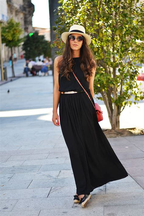 abo maxi cuisine black dress style summer black and